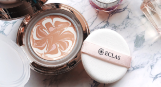 ECLAS セラム ファンデーションの使い方